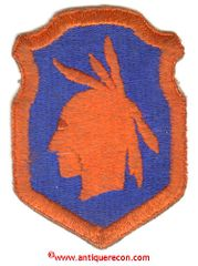 WW II US ARMY 98th INFANTRY DIVISION PATCH