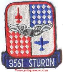 USAF 3561st STUDENT SQUADRON PATCH