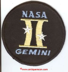 NASA GEMINI PROGRAM PATCH