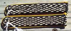 NAZI GERMAN NSKK MOTOR BRIGADE WESTFALEN SHOULDER BOARDS