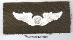 WW II US ARMY CLOTH OBSERVER WING - GABARDINE