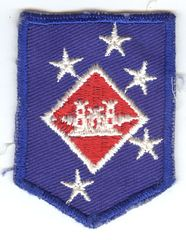 USMC 1st MARINE AMPHIBIOUS COMMAND AVIATION ENGINEER PATCH - SMALL