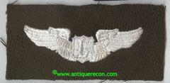 WW II US ARMY LIAISON PILOT WING - GABARDINE