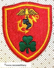 WW II US MARINE CORPS LONDONDERRY DETATCHMENT PATCH