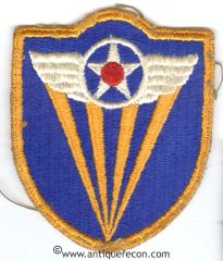 WW II US ARMY 4th AIR FORCE PATCH