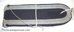 WW II GERMAN LUFTWAFFE MEDICAL NCO SEW IN SHOULDER BOARDS - MINT