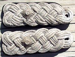 WW II GERMAN ARMY PIONEERS OR ENGINEERS LT COLONEL SLIP ON SHOULDER BOARDS
