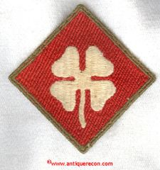 US ARMY 4th ARMY PATCH - VARIANT