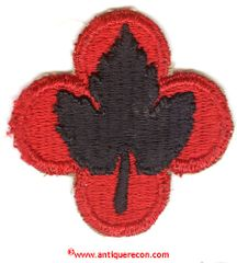WW II US ARMY 43rd INFANTRY DIVISION PATCH - VARIANT