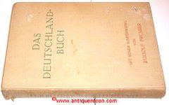 DAS DEUTSCHLAND-BUCH - PRESBER 1930