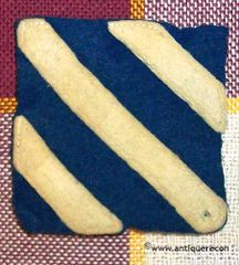 WW I US ARMY 3rd INFANTRY DIVISION PATCH - FELT