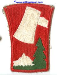 US ARMY 70th INFANTRY DIVISION PATCH