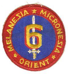 USMC 6th MARINE DIVISION