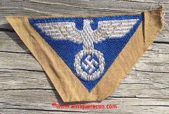 WW II GERMAN SA CAP EAGLE