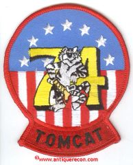US NAVY VF-74 TOMCAT PATCH