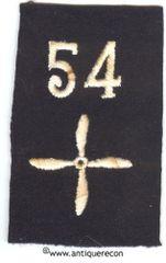 WW I US ARMY 54th AEROSQUADRON ENLISTED SLEEVE INSIGNIA