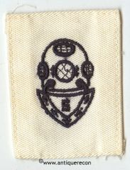 WW II US NAVY SALVAGE DIVER SPECIALTY RATE PATCH