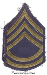 WW II US ARMY TECH SARGENT 2nd GRADE RANK STRIPES