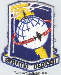 US ARMY AIRWAYS COMMUNICATIONS SYSTEMS WING PATCH
