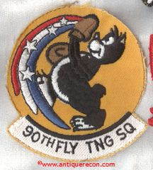 USAF 90th FLYING TRAINING SQUADRON PATCH
