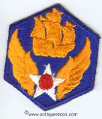WW II US ARMY 6th AIR FORCES PATCH