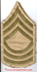 WW II US ARMY MASTER SARGENT RANK STRIPES - USED
