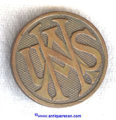 WW I US NATIONAL ARMY ENLISTED COLLAR DISK