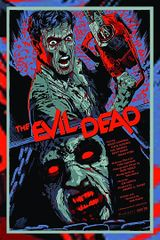 Evil Dead art Print Movie Poster w/ Border by Anomaly 11 x 17