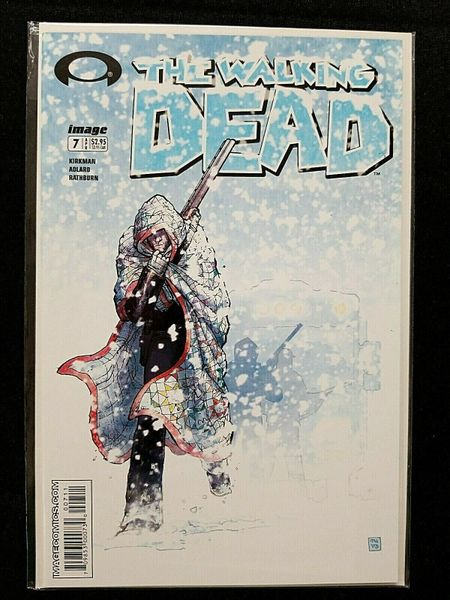 The Walking Dead #7 Image Comics 1st Print NM 9.4 HTF! 🔥🔥