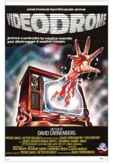 Videodrome LAMINATED Italian Movie Poster 80's Horror 11 x 17