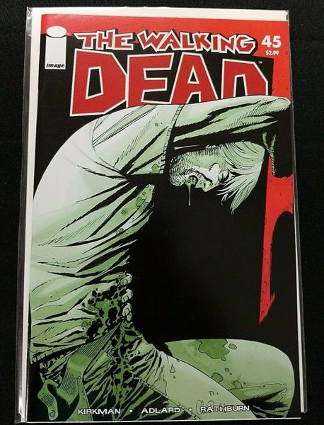 The Walking Dead #45 Image Comics Kirkman Adlard The Governor Returns AMC NM 9.4