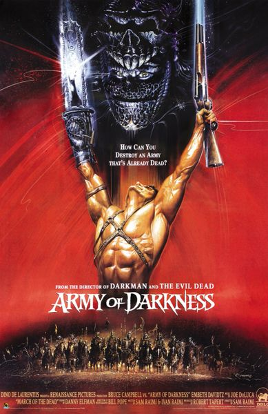 Army Of Darkness LAMINATED 11 x 17 Movie Poster