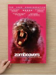 Zombeavers 11 x 17 Poster w/ Heavy Cardstock