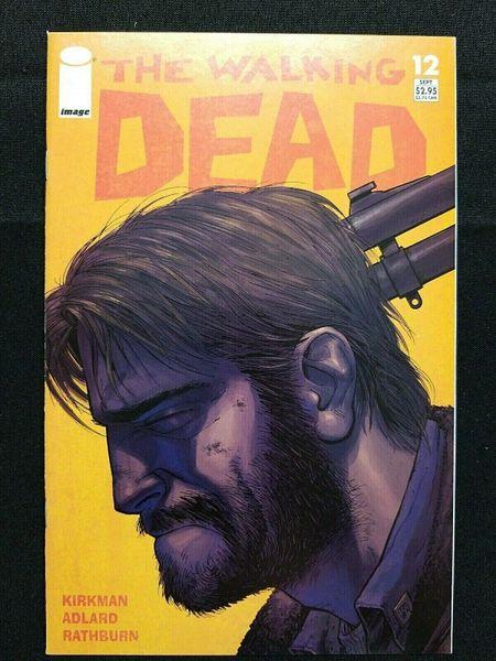 The Walking Dead #12 1st print Image Kirkman Moore Adlard 1st Prison NM 9.4