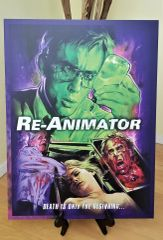 "Re-Animator 18"" x 24"" Mounted Poster w/ Border by Anomaly"