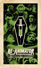 Re-Animator Vintage-Style 11 x 17 LAMINATED Movie Poster