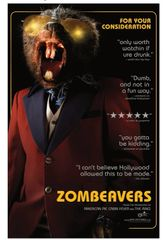 Zombeavers Promotional Movie Poster 11 x 17