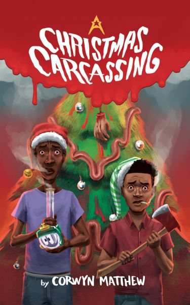 A Christmas Carcassing 6 x 9 Signed Paperback NOW AVAILABLE!