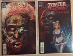 A Very Zombie Tale of Two Books!