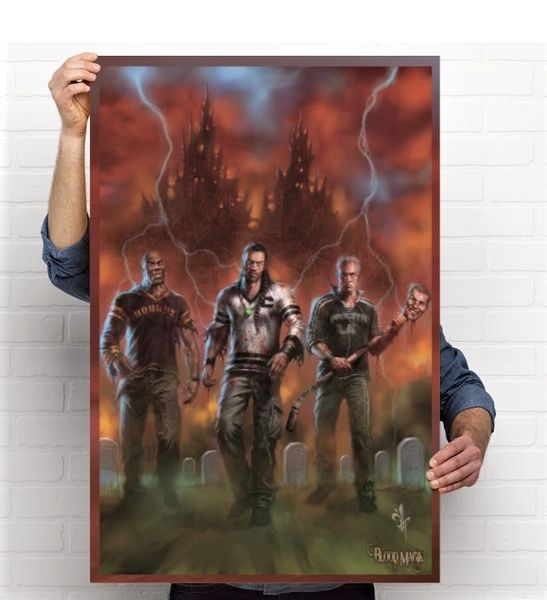 Blood Magik: A Cold Day In Hell, Pure Art 24 x 36 Collector's Poster