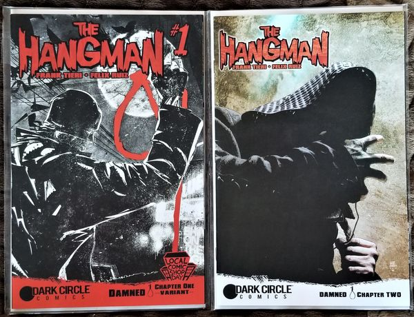 THE HANGMAN #1 - Local Comic Shop Day Exclusive & #2