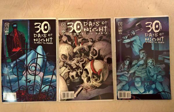 30 Days of Night: 30 Days 'Til Death #1-3