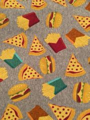 Burgers N Pizza - cotton