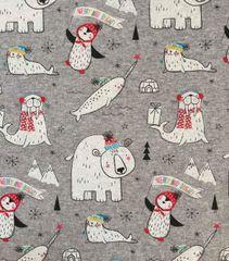 North Pole Pals - cotton