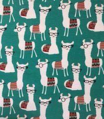 Hipster llamas - cotton