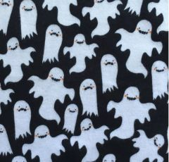 Ghoulish Ghosts -- cotton