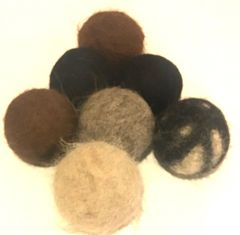 Dryer Balls - 100% Hypoallergenic Alpaca Fiber