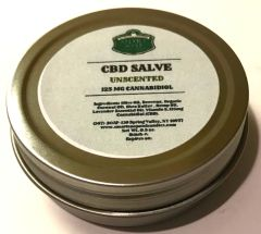CBD Salve - 125 MG (Unscented)