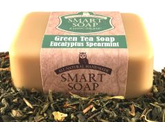 Green Tea Soap - Spearmint Eucalyptus
