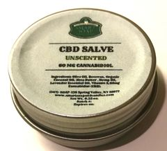 CBD Salve - 60 MG (Unscented)